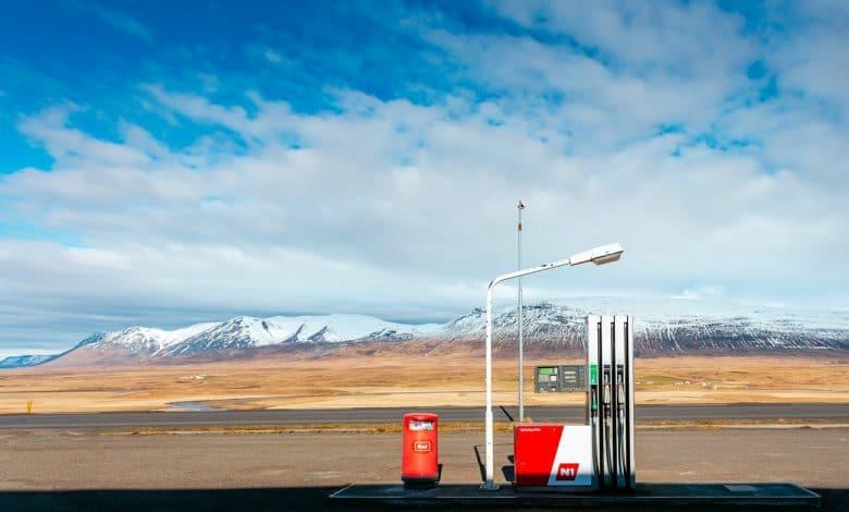 benzine prijs is gelijk aan het recordniveau